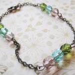 Bracelet with Czech glass b..